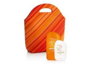 Protetor solar para pele oleosa + loção protetora