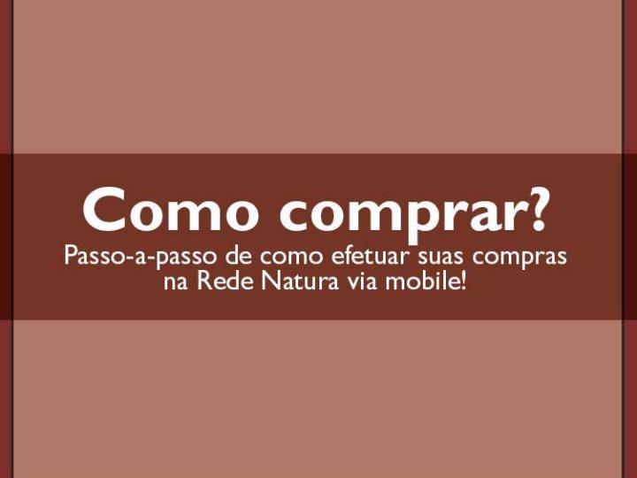 Como comprar Natura pelo celular