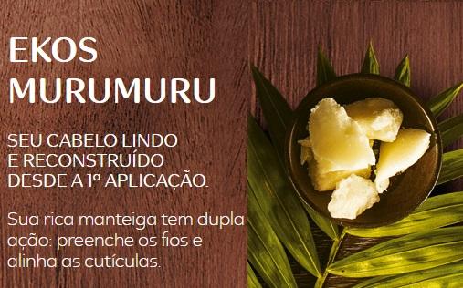 Natura Ekos Murumuru Hidratacao para cabelos