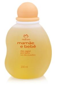 Óleo Vegetal para Banho Mamãe e Bebê