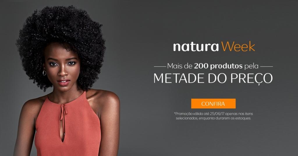 200 Produtos Natura com desconto de 50%